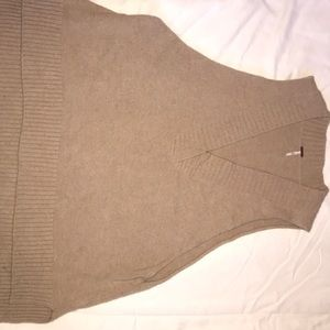 Free People oversized sweater vest small